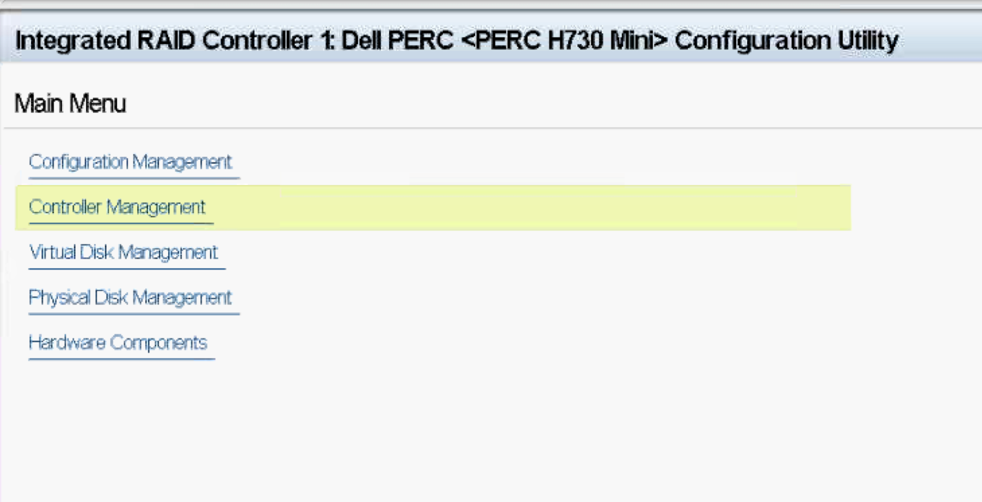 VSAN – Changing Dell Controller from RAID to HBA mode | JohannStander